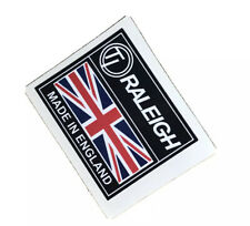 RALEIGH STICKER Made In England  Classic  badge Stick On 52x42mm Chopper  Decal