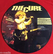 "THE CURE -Peel Sessions- Very Rare UK 4 Track 12"" Picture Disc (Ltd to 3000)"