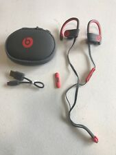 Beats By Dr. Dre Powerbeats3  Red/Gray   READ DESCRIPTION #34