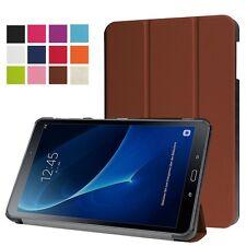 Smart Cover marrón para Samsung Galaxy Tab a 10.1 t580 t585, funda protectora, funda bolsa nuevo