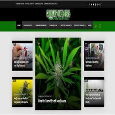 Cannabis News  Video Wordpress Website /woocommerce/Ebay/amazon/aliexpress ready