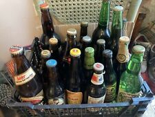 More details for job lot of 95 empty beer bottles with label & caps, all different. 1970's 80's