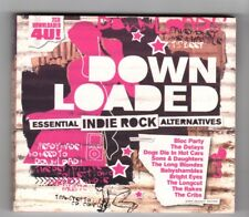 (HY883) Down Loaded, Essential Indie Rock Alternatives - 2005 double CD