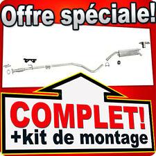 Echappement FIAT STILO 1.2 16V 01-03 80CH Silencieux 139