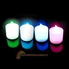 LED Electronic 7 Random Color Change Light Flameless Lights Candle Cup Lamps