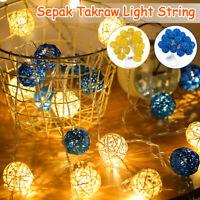 20LED 3.2m Sepak Takraw String Light  Bedroom Decor Fairy Light Warm