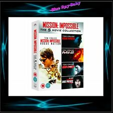 MISSION IMPOSSIBLE COLLECTION MOVIES 1 2 3 4 5  ** BRAND NEW BOXSET**