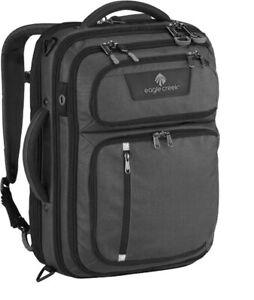 Eagle Creek Convertabrief 26.5L Carryon Shoulder / Backpack  Asphalt BLACK