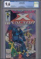 X-Factor #25 CGC 9.6 1988 Marvel Ronald Reagan/ Power Pack: New Frame