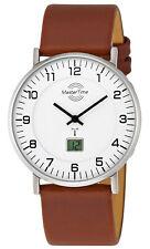 MASTER TIME Herren-Funkuhr Advanced Slim MTGS-10561-12L