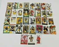 BEN ROETHLISBERGER FOOTBALL CARD LOT OF 62 WITH ROOKIE CARDS PITTSBURGH STEELERS
