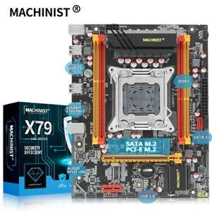 MACHINIST X79 LGA 2011 motherboard LGA2011 support DDR3 REG ECC RAM memory Xeon