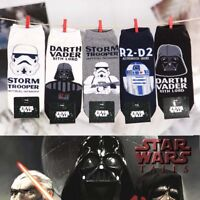 Star Wars Socks Men's Low Cut Casual Socks Darth Vader Face Character Socks Hot