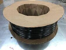 "1"" x 100 ft BLACK Vinyl Insert Trim Molding Screw Cover RV Boat Camper Trailer"