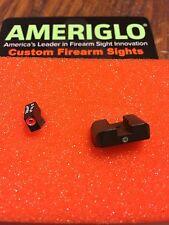 AmeriGlo GL-203 Pro I-Dot Orange OL Tritium Night Sights Glock 20/21/29/30/31/32