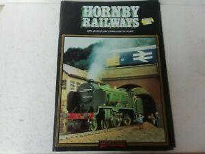 OO Gauge Model Railways 1982  Catalogue  by Hornby