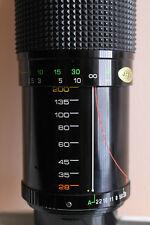 Zoom 28-200 PKA Promura 3,8 5,5 Macro