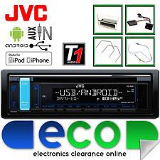 Vauxhall Corsa D JVC AUTO STEREO CD USB AUX MP3 Kit de panel de control de dirección Beige
