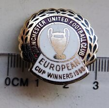 Manchester United Champion of Europe 1968 pin anstecknadel brosche brooch Reeves