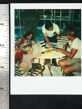 Vintage Polaroid SX70 Photographs  - BUSINESS AROUND THE POOL - PUNTA GORDA FL