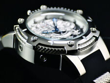 NEW Invicta Men's 52mm High Polished Bolt Dragon Automatic Silicone Strap Watch