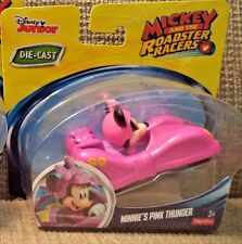 FISHER PRICE DISNEY MICKEY AND THE ROADSTER RACERS MINNIE'S PINK THUNDER CAR NU