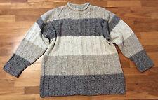 TOPMAN Mock Neck Wool Blend Ribbed Sweater Men's Size L / XL