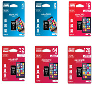 MicroCARD microSDHC Class 4 Class 10 UHS-I 8GB 16GB 32G Speicher Karte Adapter