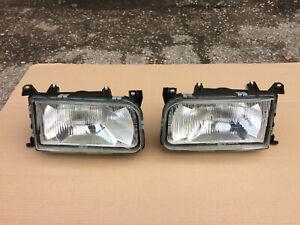 VW Volkswagen Passat B3 35i OEM Euro LHD Set Hella Left Right Headlights