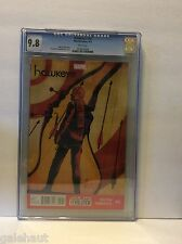 HAWKEYE # 12 CGC 9.8. RED HOT! MARVEL NOW!