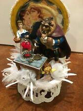 "DISNEY Inspired- Beauty and the Beast Cake-Topper-Party-Decoration ""Fairy Tale"""