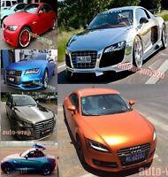 "All Car Wrap - 3D 4D 5D Carbon Fiber Mirror Chrome Vinyl Sticker 12"" x 60"" AB"