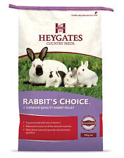 HEYGATES RABBIT food / feed CHOICE PELLETS 20 KG bag (MMCS)