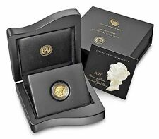 2016-W Gold Mercury Dime, US Mint Presentation Box w/COA and Case, No Coin!