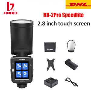 JINBEI HD-2 Pro Speedlite TTL/HSS 2.8in Strobe Flash Light for Canon Nikon Sony