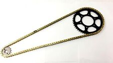 Yamaha YZF-R6 S '06-10 models X-Ring Chain & and Sprocket Set GOLD