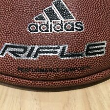 Adidas Rifle Leather Football Ncaa Nfhs New G82714 Rare Official Size