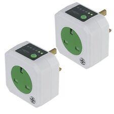 Ansmann Energy Saving Socket Outlet & Timer (2 pack) - Free P&P Worldwide!
