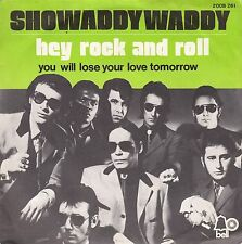 """45 T SP  SHOWADDY WADDY  """"HEY ROCK AND ROLL"""""""