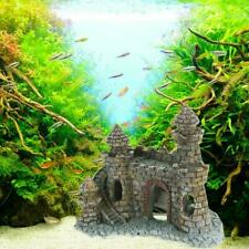 Aquarium Ornaments Mini Castle Towers Decorations Fish Tank Nontoxic Accessories
