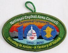 National Capital Area Cncl (MD) 2010 Centennial Camporee Pocket Patch  BSA  GRN