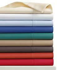 Charter Club Bedding 500 TC Damask Solid QUEEN EXTRA DEEP Sheet Set Taupe C087