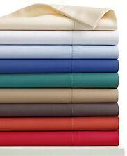 CHARTER CLUB 500 TC Damask Solid QUEEN EXTRA DEEP Sheet Set Denim Blue A758