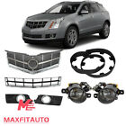 Fit Cadillac SRX 2010-2012 Front Grille Fog Lights and Bezels/Lower Deflector  for sale