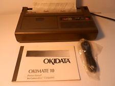 ITHistory (198X) Rare Hardware: Okidata Okimate 10 Printer (Commodore) Untested