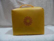 Vintage Tupperware Picnic Tote Insulated Cooler Lunch Bag Harvest Maize Sunburst