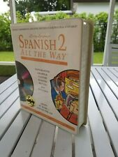 LIVING LANGUAGE SPANISH ALL THE WAY 2 (BOOK + 8 DISCS) 1995