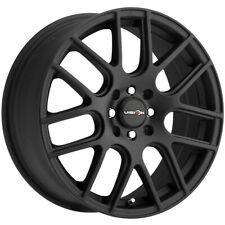 "Vision 426 Cross 15x6.5 4x100/4x4.5"" +38mm Matte Black Wheel Rim 15"" Inch"