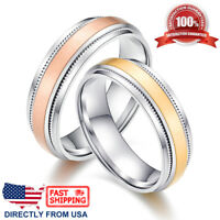 Couple's Matching Ring, His and Hers 6mm Wedding Band Comfort Fit Ring