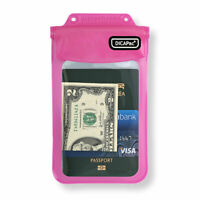 DiCaPac WP-565 Waterproof Case Multipurpose Bag for Smartphone Passport - Pink